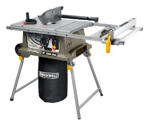 "8)Ryobi ZRRTS10G 15 Amp 10"" Table Saw with Steel Stand"