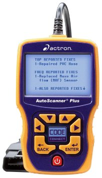 1.Actron CP9580A Enhanced AutoScanner Plus