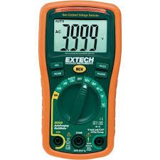 Extech EX330 Autoranging Mini Multimeter with Built In Thermometer with Type K Remote Probe