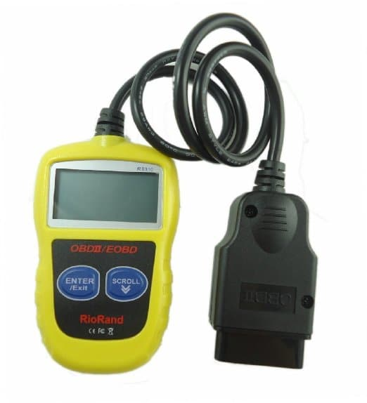 RioRand RS310 OBDII/EOBD Code Reader Powerful Faster & Newest Car Coverage Than 300 And 309 Scanner