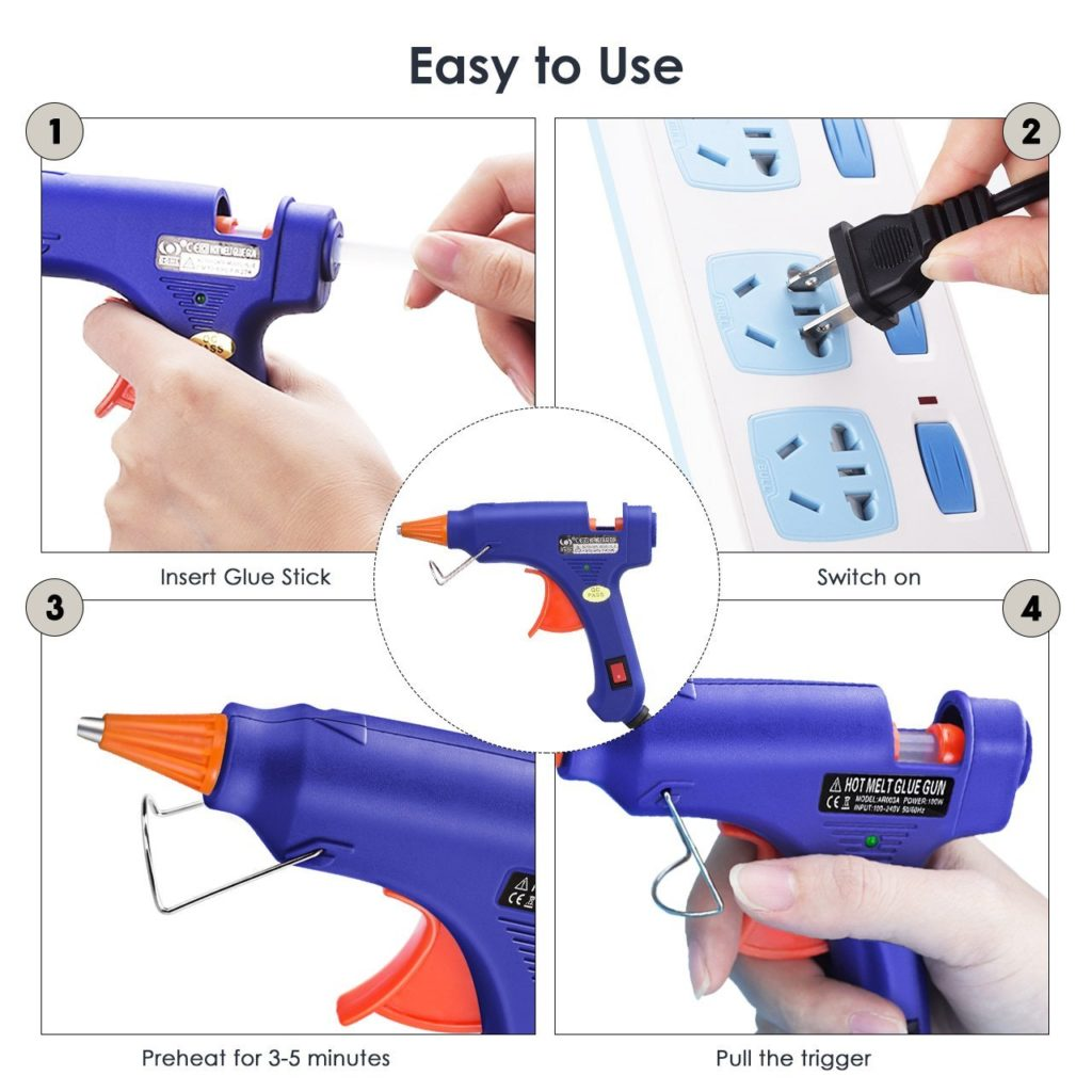 High Temperature Melting Glue Gun